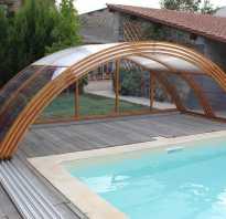 Практичный бассейн из поликарбоната 30 фото
