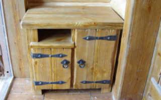 Как сделать шкаф своими руками из дерева