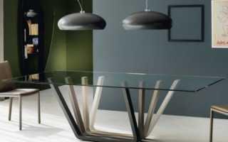 Как собрать стеклянный стол для кухни?