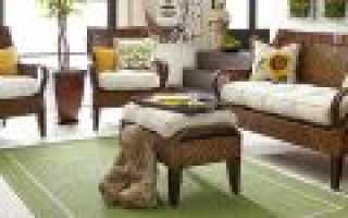 Как делать плетеную мебель?