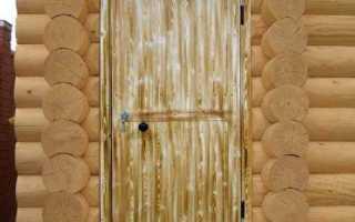 Как выбрать входную дверь в баню