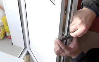 Почему не закрывается пластиковая балконная дверь?