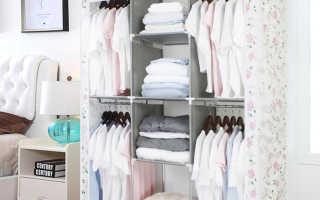Тканевые гардеробные шкафы