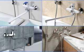 Замена гусака смесителя в ванной