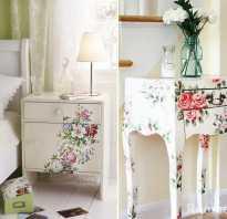 Как красиво обшить мебель?