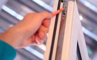 Регулировка плотности закрытия пластиковых окон