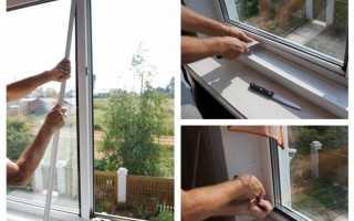 Как демонтировать стеклопакет из пластикового окна