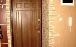 Как выложить плитку у входной двери?