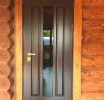 Входная дверь в баню деревянная металлическая фото