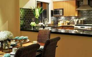 Какая отделка стен лучше для кухни?