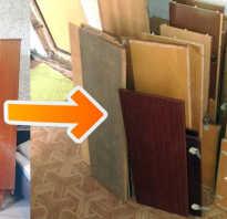 Как сломать встроенный шкаф?