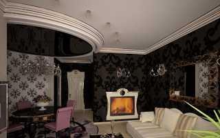 Каково значение бордюра для натяжного потолка в интерьере комнаты