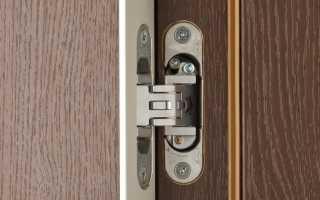 Как отрегулировать скрытые петли межкомнатной двери?