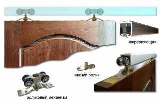 Как закрываются раздвижные межкомнатные двери?