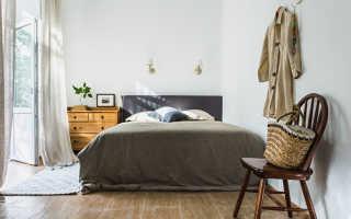 Скандинавский стиль спальня