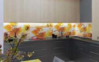 Как обшить кухню панелями МДФ?