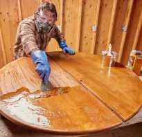 Как перекрасить стол из ДСП?