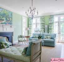 Как подобрать красивые шторы к зеленым обоям в комнате
